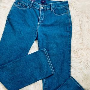 NYDJ Jeans - Not Your Daughters Jeans-Marilyn Straight-Size 12